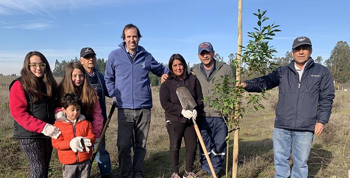 Con éxito finalizó campaña de forestación durante el mes del medioambiente